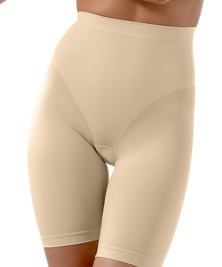 Nude Guaina Invisible Shaper High-Waisted Shorts - Women & Plus
