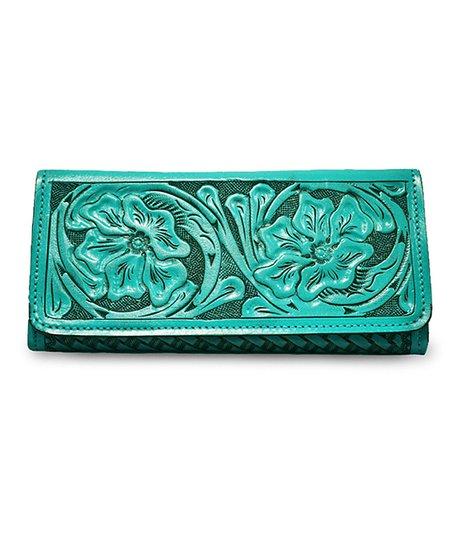 Turquoise Kari Wallet