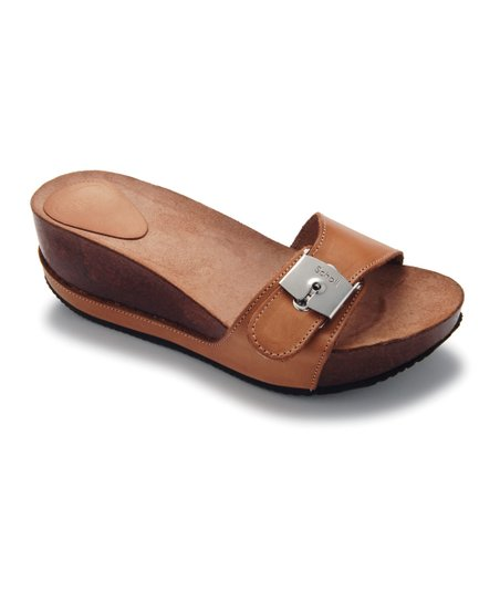 Brown Musal Platform Slide