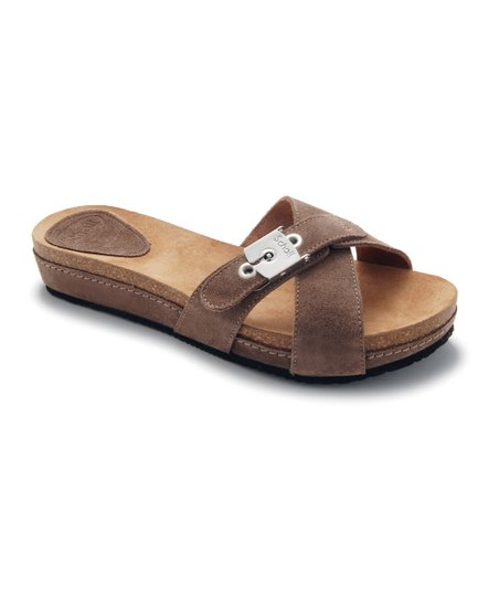 Dark Taupe Maest Slide