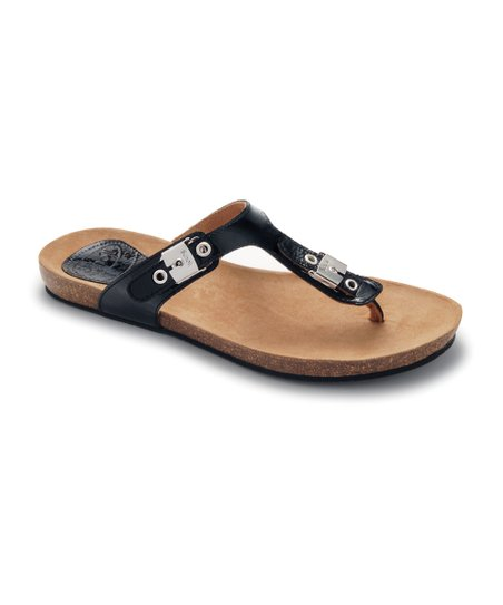 Black Patent New Bimini Sandal