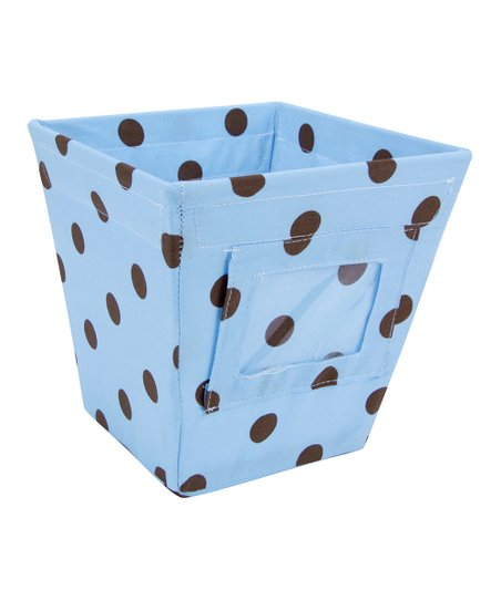 Max Dot Small Fabric Storage Bin