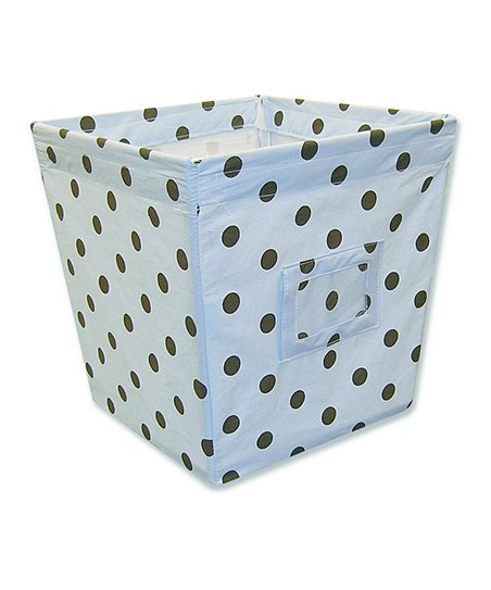 Max Dot Medium Fabric Storage Bin