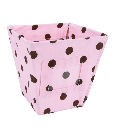Maya Dot Small Fabric Storage Bin