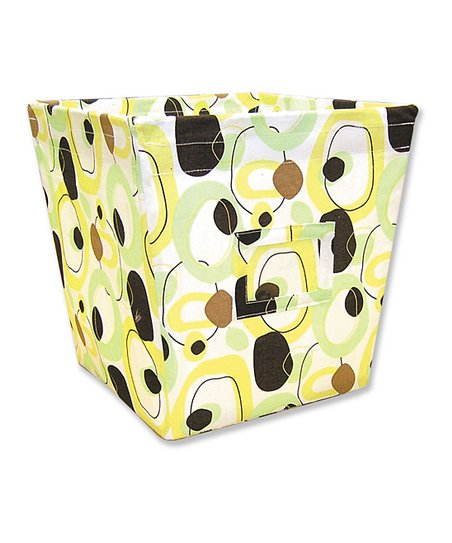 Giggles Medium Fabric Storage Bin