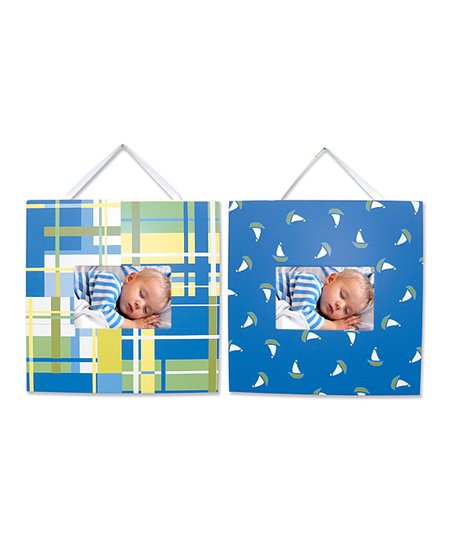 Blue Nantucket Frame Set