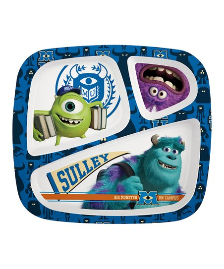 Monsters U Three-Section Plate