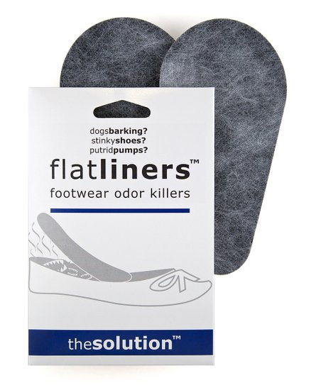 Flatliners Black Shoe Odor Eliminator - Set of Four