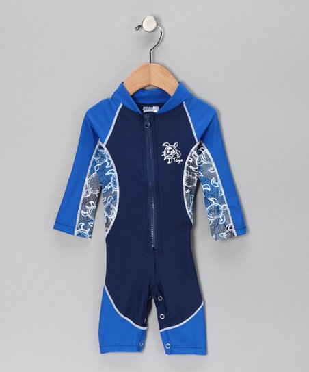 Lapis High-Tide One-Piece Rashguard - Infant, Toddler & Boys