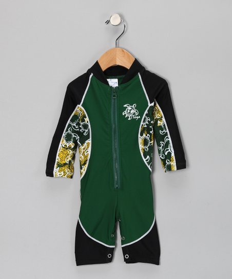 Malachite High-Tide One-Piece Rashguard - Toddler & Boys