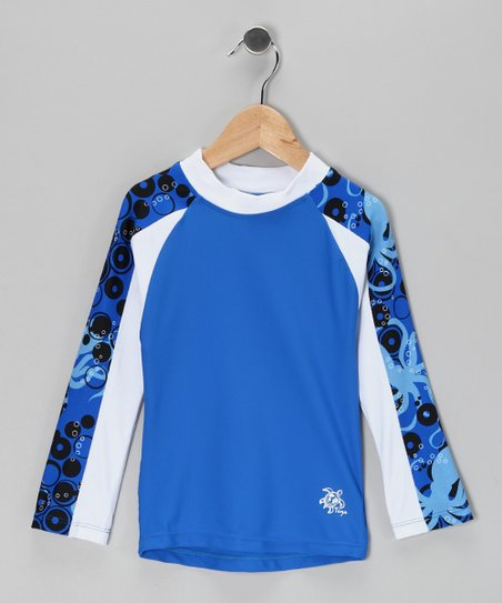Ocean Tube Long-Sleeve Rashguard - Infant, Toddler & Boys