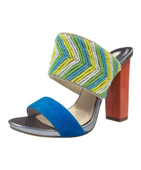Natural & Blue Paladina Sandal