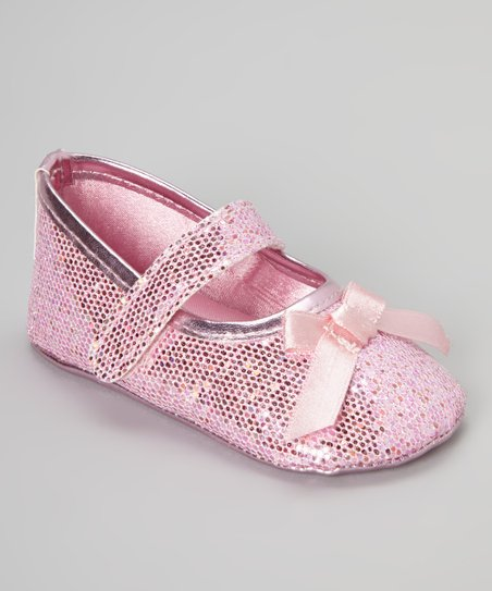 Pink Glitter Mary Jane