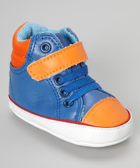 Blue Hi-Top Sneaker