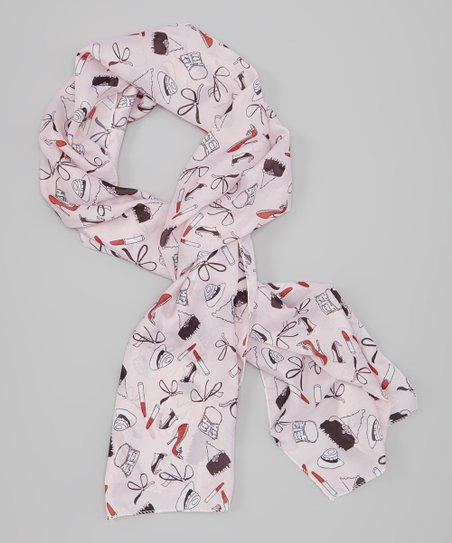 Pink Fashion Icon Scarf
