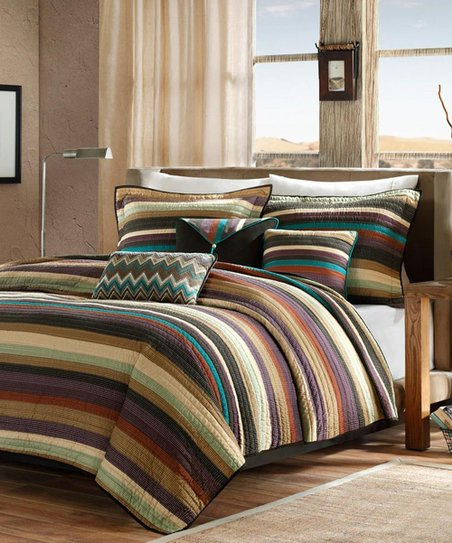 tucson quilted coverlet set new style map