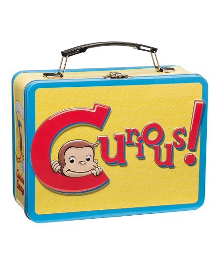 Curious George Tin Lunch Box