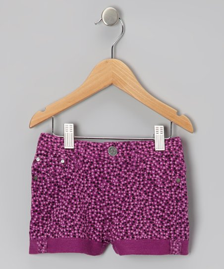 Hyacinth Heart Shorts - Toddler & Girls