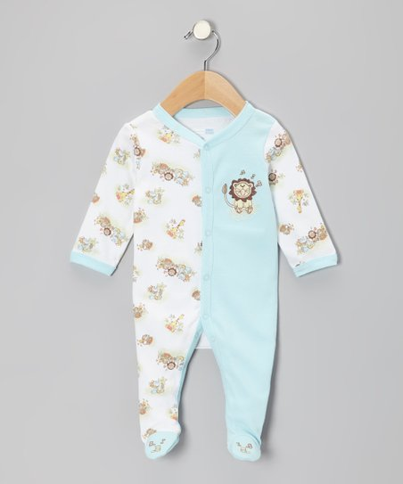 Baby Blue Lion Footie - Infant
