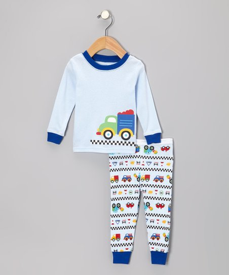 Blue Truck Pajama Set - Infant & Toddler