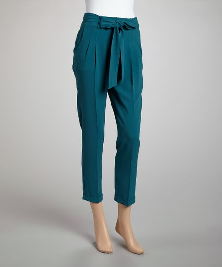 Teal Pants - Women