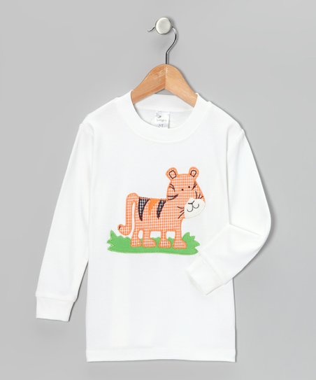 White Tiger Tee - Infant, Toddler & Boys