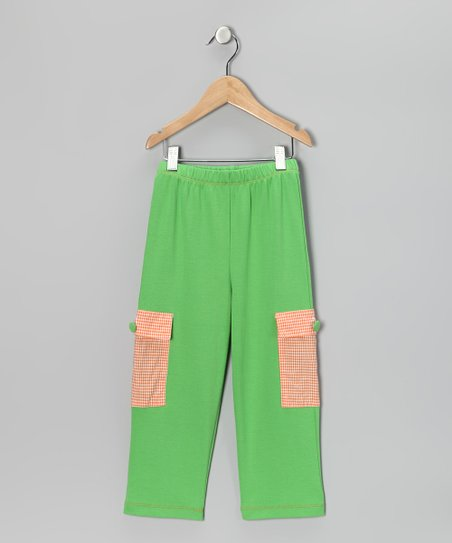 Lime Cargo Pants - Infant, Toddler & Boys
