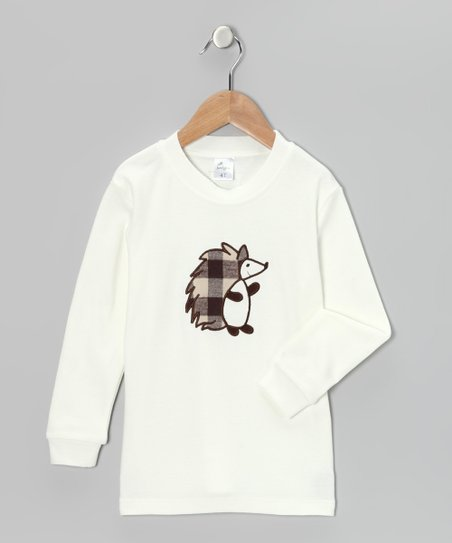 Cream Hedgehog Tee - Infant, Toddler & Kids