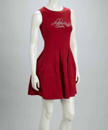 Crimson Alabama Swing Dress - Women