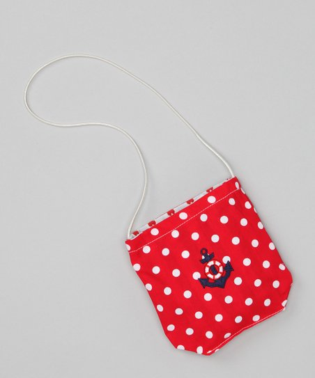 Red Anchor Petit Purse
