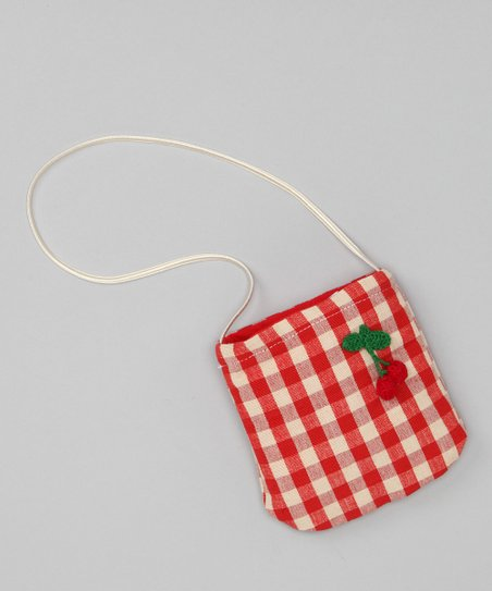 Red & Ivory Cherry Petit Purse