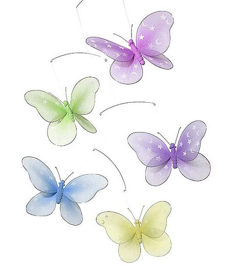 Jewel Butterfly Mobile