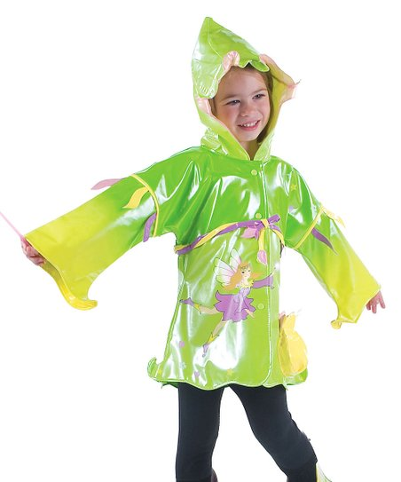 Green Fairy Raincoat - Infant, Toddler & Kids