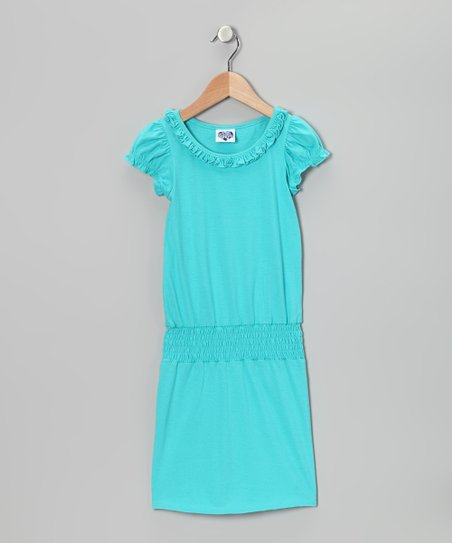 Pool Ruffle Smocked Dress - Toddler & Girls