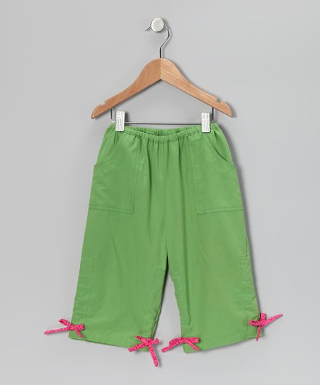 Fresh Fruit Drawstring Capri Pants - Infant, Toddler & Girls