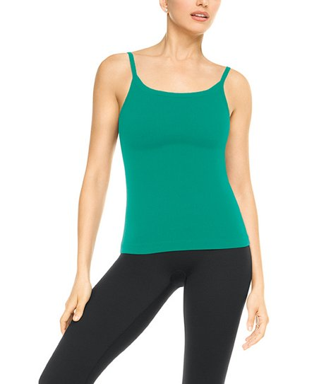 Ribbed Cami - Energetic Jade