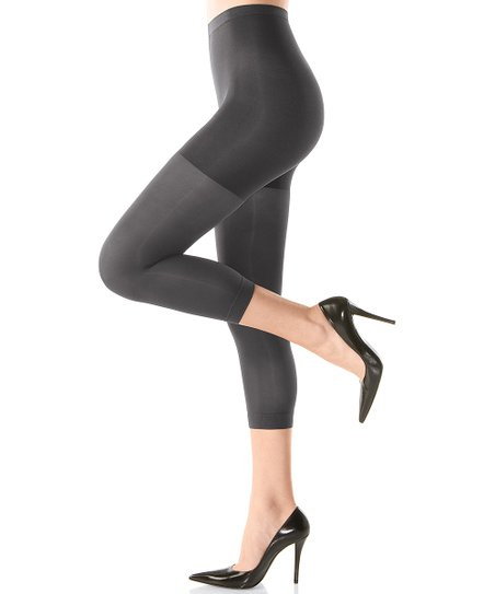 SPANX® Footless Tight-End Tights - Charcoal