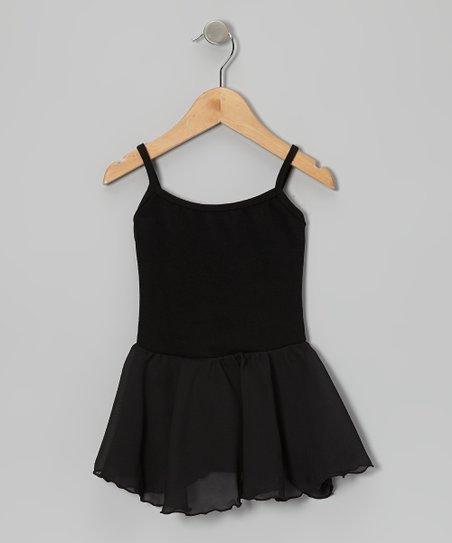 Black Skirted Leotard – Toddler & Girls