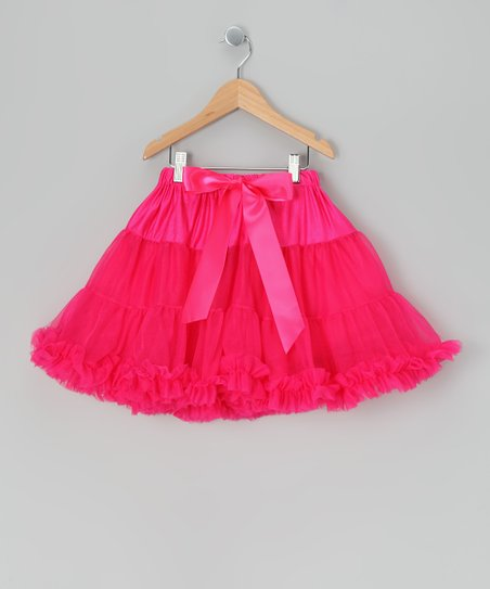 Raspberry Pink Mini Pettiskirt - Infant, Toddler & Girls
