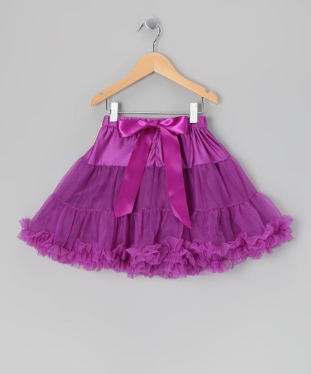 Purple Mini Pettiskirt - Infant, Toddler & Girls