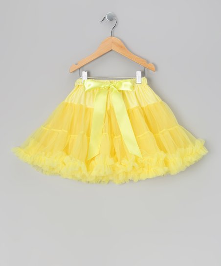 Yellow Mini Pettiskirt - Infant, Toddler & Girls