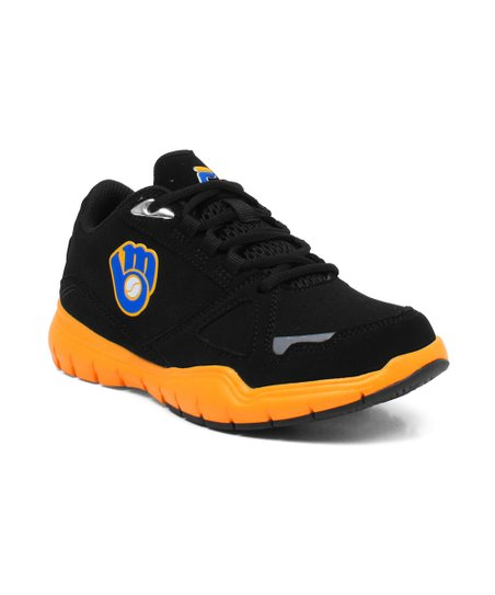 Black Milwaukee Brewers Sneaker