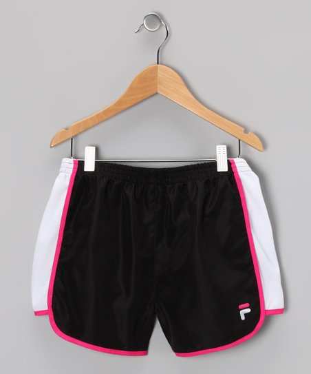 Rich Black Primo Shorts - Girls