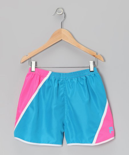 Atomic Blue & Knockout Pink Shorts
