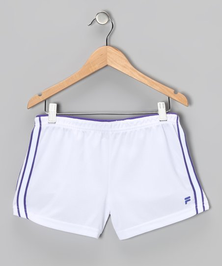 Arctic White Mesh Shorts