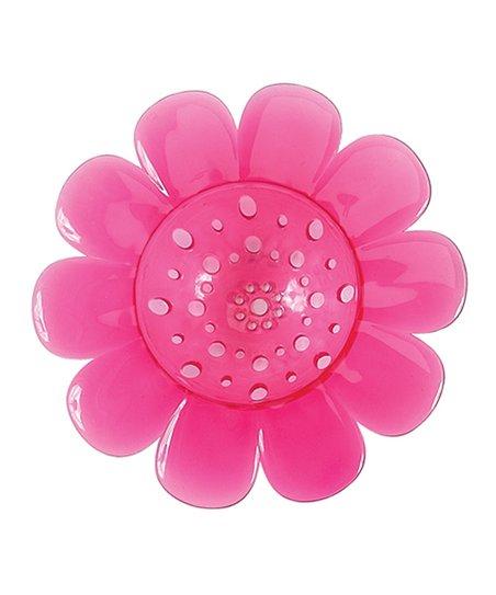 Pink Flower Garden Sink Strainer