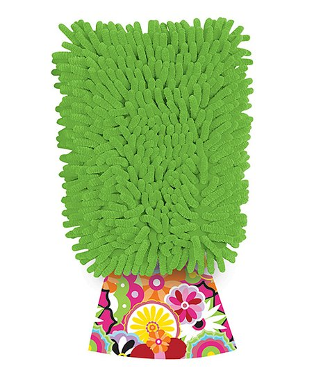 Green Dusting Diva Citric Microfiber Mitt