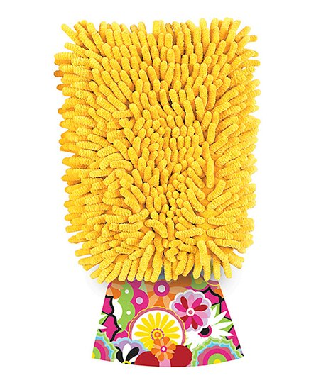 Yellow Dusting Diva Citric Microfiber Mitt