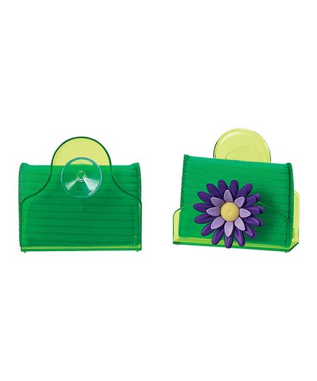 Plum Flower Caddy & Sponge