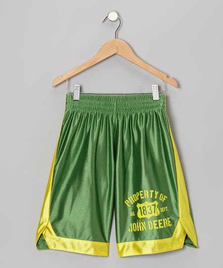 Green Dazzle Shorts - Toddler